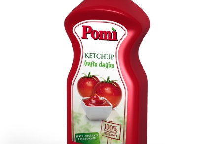 Pomì Ketchup: only Italian Tomato, colour and preservative free