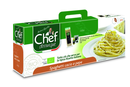 ChefDovunque: kits for preparing Italian pasta
