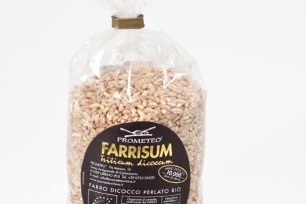 Farrisum, pearled emmer wheat