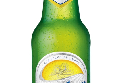 Non-alcoholic beer with lemon juice, a refreshing break