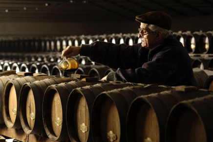 Century-old barrels for Bellei vinegar