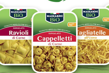 Pastificio Mazzarini launches gluten free and organic frozen pasta