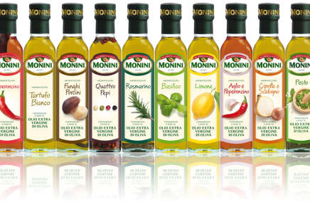 Monini introduces its selection of 10 extra virgin aromatized olive oils