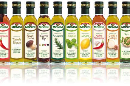 Monini introduces its selection of 10 extra virgin aromatized olive oils
