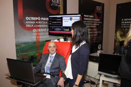 Vinitaly: measuring physiological reactions to wine