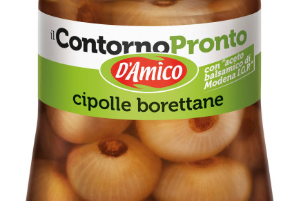 Borettane onions with PGI balsamic vinegar of Modena
