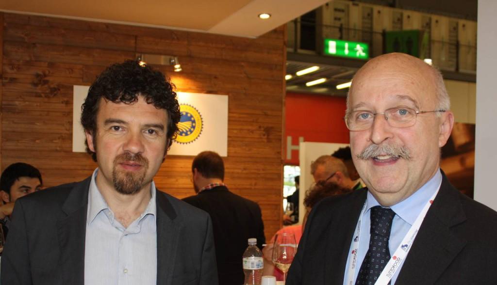 Presidente Consorzio Fabio Bergonzi e direttore Consorzio Annibale Bigoni