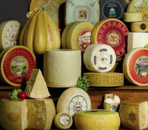 Italian PDO cheeses