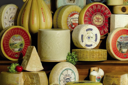 Italian PDO cheeses: boom in export to Spain