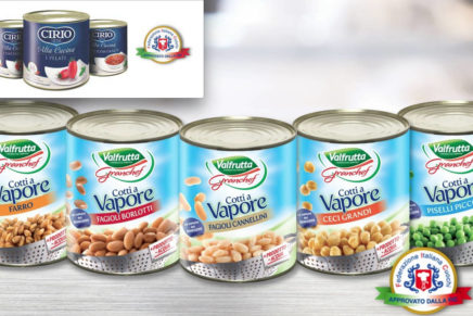 Chefs and Conserve Italia team up with Valfrutta and Cirio