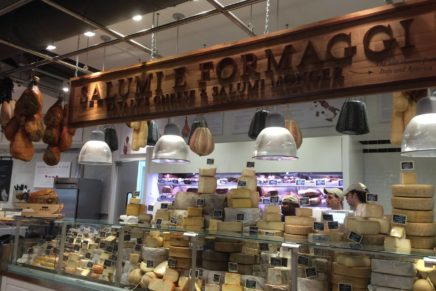 Sales of Italian cheeses are increasing