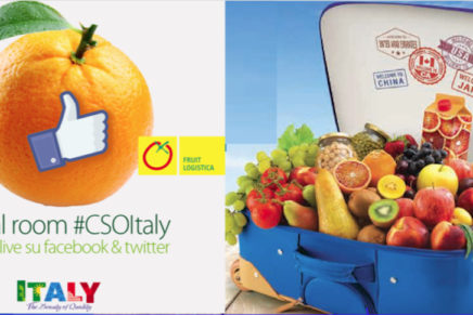 Cso Social room at Italy stand of Fruit Logistica