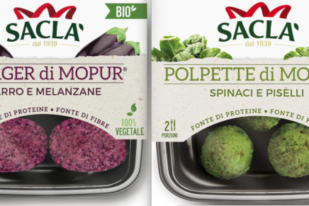 Saclà launches a new line of organic main courses based on mopur