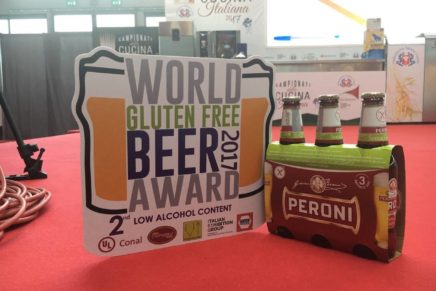Peroni wins at the World Gluten Free Beer Award