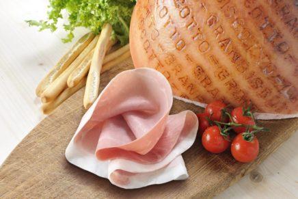The English appreciate Italian cooked ham