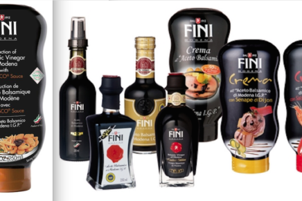 Fini presents its balsamic cream with Tabasco sauce