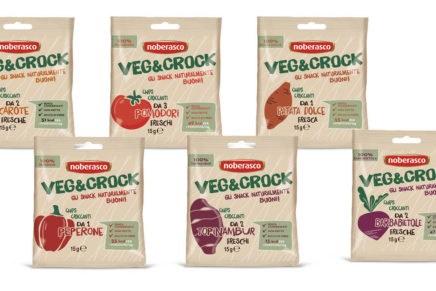 Noberasco launches a line of vegetable chips