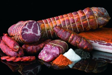 Italian salami, delicious but in small amounts
