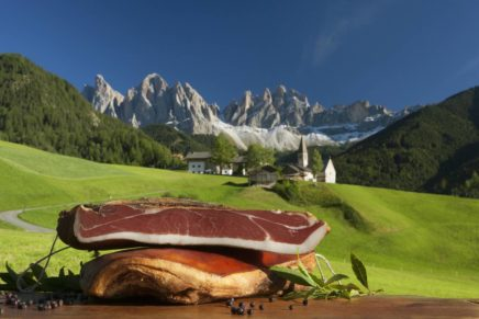 Speck Alto Adige PGI Festival in the Funes valley