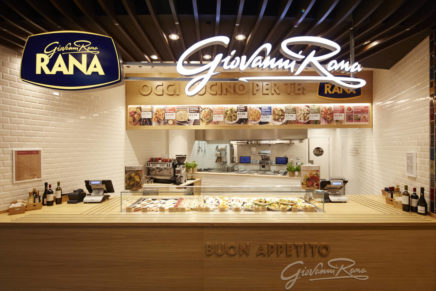 The role of Giovanni Rana's restaurants