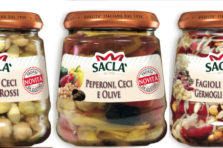Saclà launches a new line of in oil vegetables