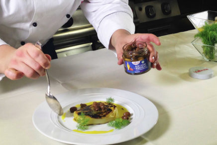 Valbona extends the concept of vegetable preserves