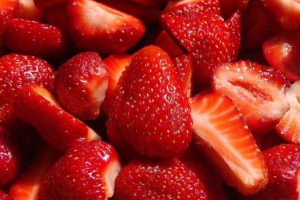 CSO Italy and the analysis on strawberries