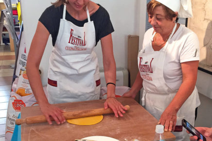 The Festival of Italian Cuisine lands in Pesaro