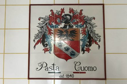 Cuomo Palace becomes a temple of pasta