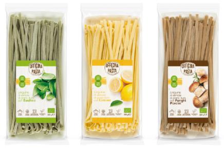 Officina della Pasta launch enriched organic line