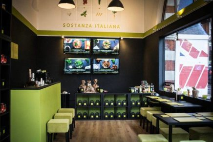 Italian food delivery in the heart of London