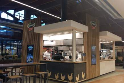 Amadori opens its first corporate kiosk store