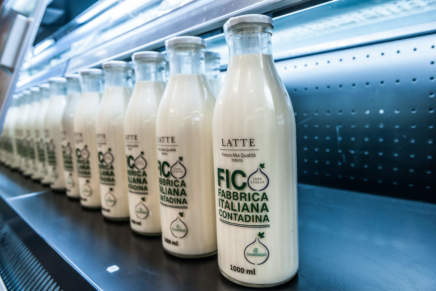 Granarolo proposes its 'high fashion' milk