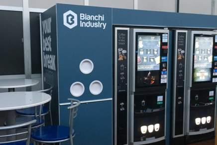 Made in Italy vending machines, exports up by + 5%