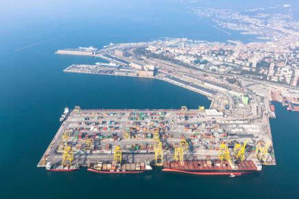 The port of Trieste strengthens fresh-food and fruit and vegetable sectors