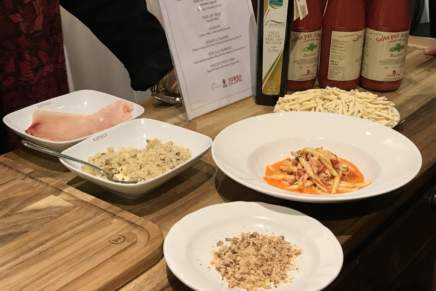 Calabria shows its products in the stores of Eataly USA