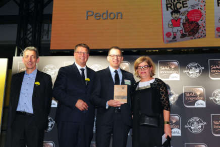 "Pedon's ""More than Rice"" received the Innovation Award at Sial 2018"