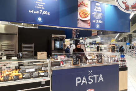 Barilla experiments with instore restaurants with Carrefour